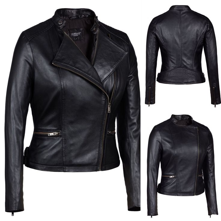 43 best Womens Leather Jackets images on Pinterest | Leather ...