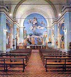 daniel arte: Raúl Soldi - Iglesia Santa Ana