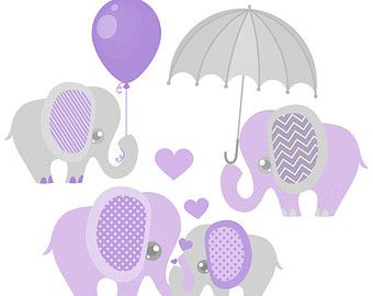 Purple Baby Rattle Clip Art | Purple and Grey, Baby Shower ...