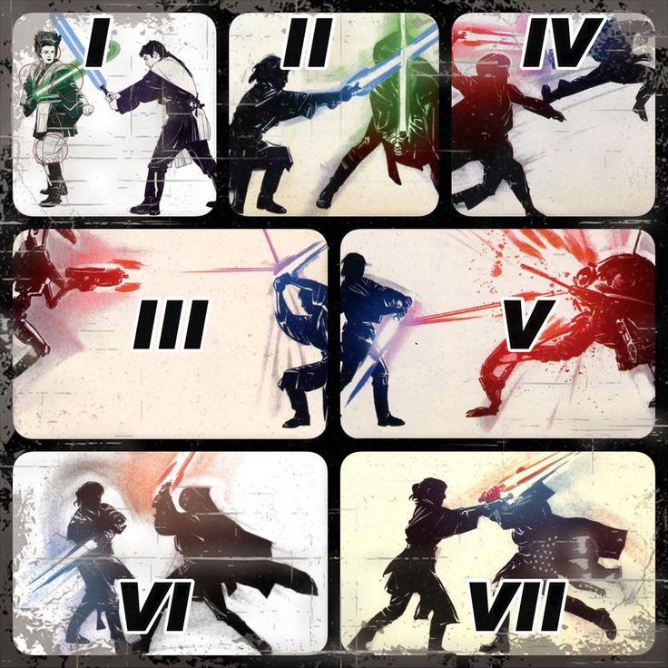 21 best Jedi/Sith Combat Styles images on Pinterest | Starwars ...