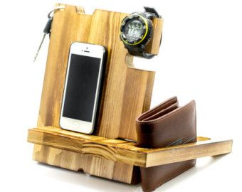A very good gift for graduation gift,for birthday gift, wedding gift, Fathers Day gift.    Can be used as:  1. A dock for your phone:  It can be used to