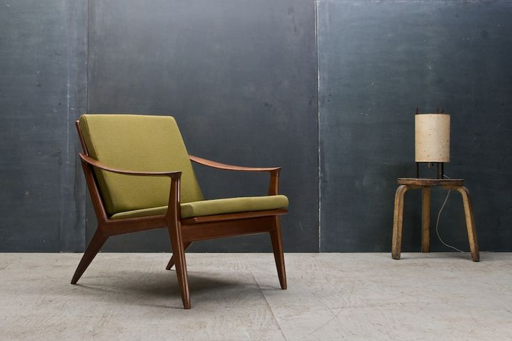 Relling Bambi Sculptural Teak Chair : 20th Century Vintage Industrial : Modern Fifty