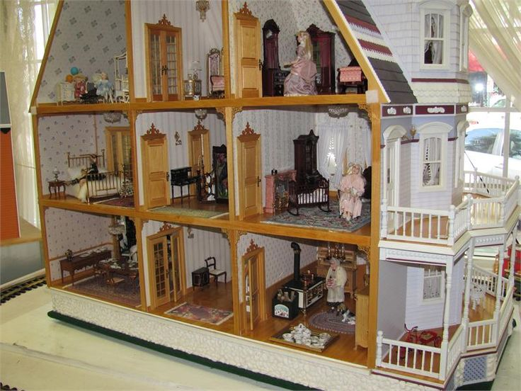 26 Best Images About Historical Collection Dollhouses On Pinterest Queen Anne Mansions And