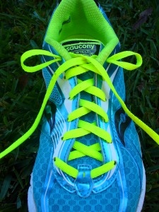 How to tie your running shoes to fit your feet better. My podiatrist showed me this trick!