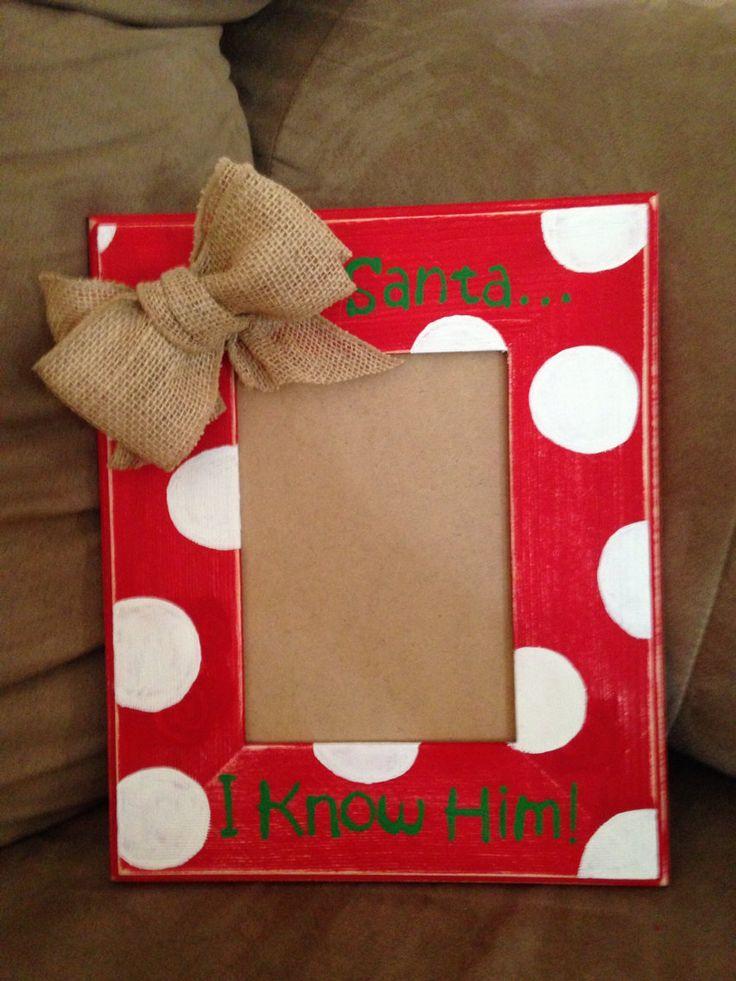 25+ beste ideeën over Christmas picture frames op Pinterest ...