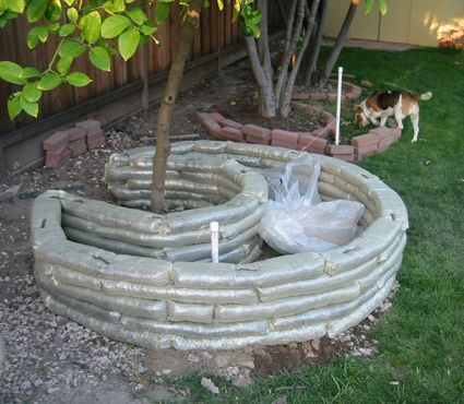 17 best images about in the yard bean houses keyhole - Concrete projects for the garden ...