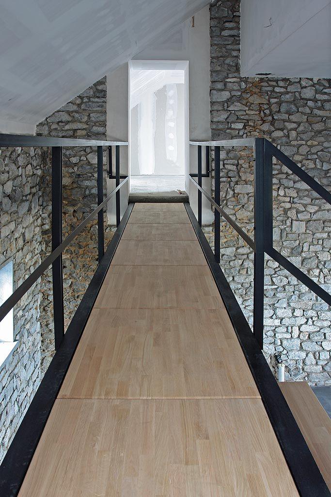 By yves deneyer belgium interior inspirations for Renovation grange