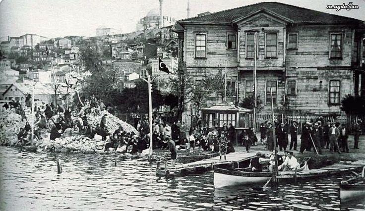 Haliç / Fener iskelesi - 1930 lar