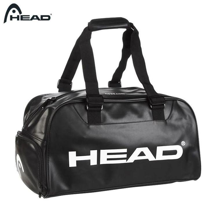 Black & White Head Tennis Bag