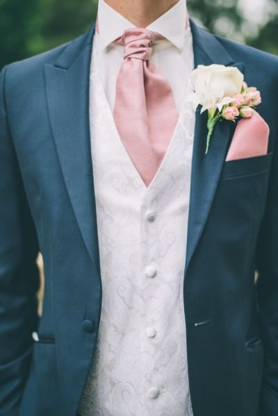 We love the pink accents: http://www.stylemepretty.com/little-black-book-blog/2014/11/06/quintessential-english-garden-wedding-inspiration/ | Photography: CJK Visuals - http://www.cjkvisuals.com/
