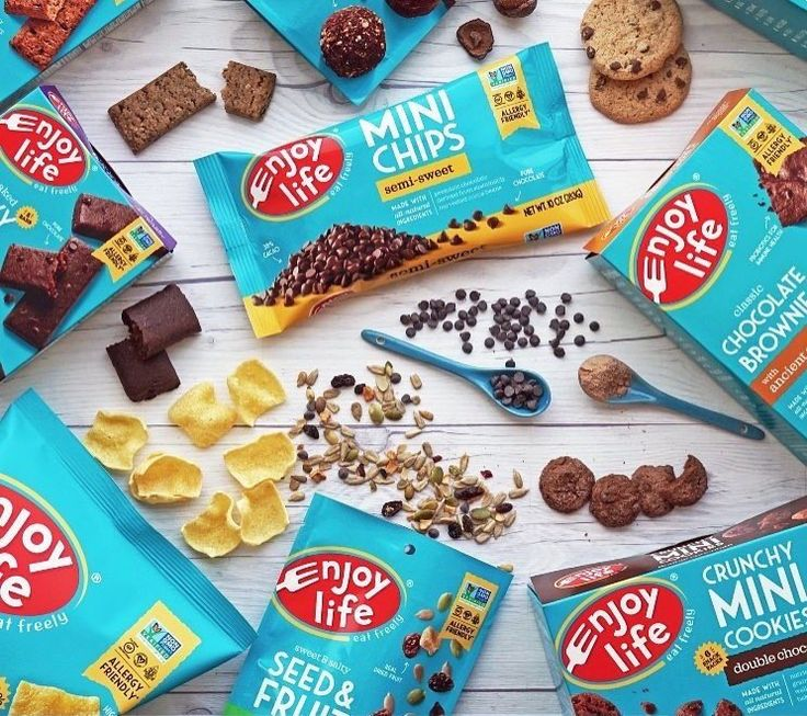 Enjoy Life Goes Teal & Launches New Grain & Seed Bars in enticing flavors. All vegan, gluten-free & top allergen-free