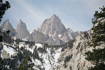 List of mountain ranges of California - Wikipedia
