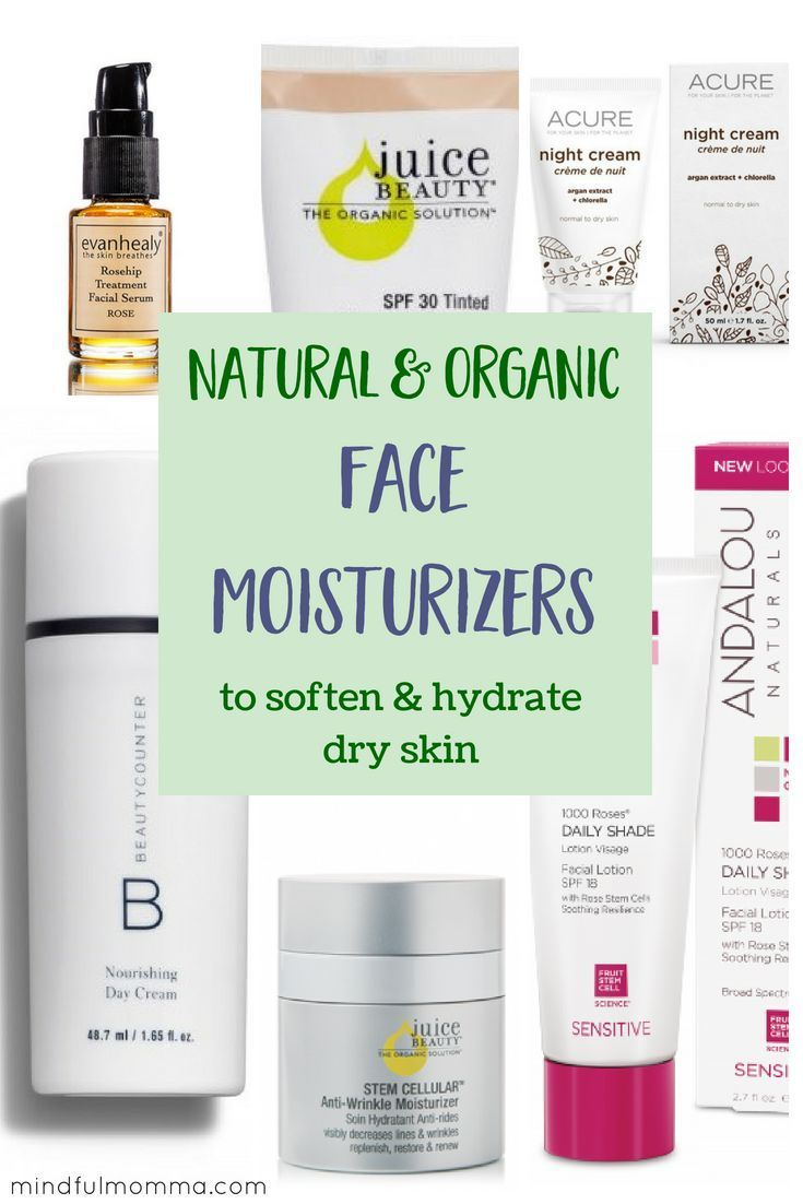 Best Natural Organic Face Moisturizers For Dry Skin Organic Face Moisturizer Organic Face Products Soften Dry Skin