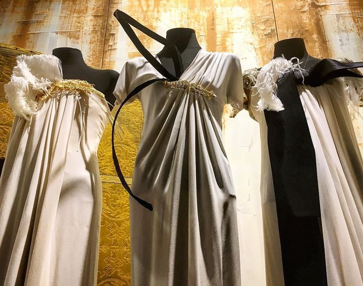 """The Three Graces. My favorite dresses at """"Gianfranco Ferré and Maria Luigia: unexpected similarities"""" exhibition in #Parma Italy  Know more on http://ift.tt/1vWZRwv  #inatteseassonanze #gianfrancoferré #ferré #madeinitaly #fashion #fashionexhibition #whatilove #nothingisordinary  #thehappynow #instastyle #huntgraminstastyle #flashesofdelight #abmlifeiscolorful #huffpostgram #waycoolshots #hashtagfloosie #thatsdarling #popyacolour #wanderlust #photography #liveauthentic #pursuepretty…"""