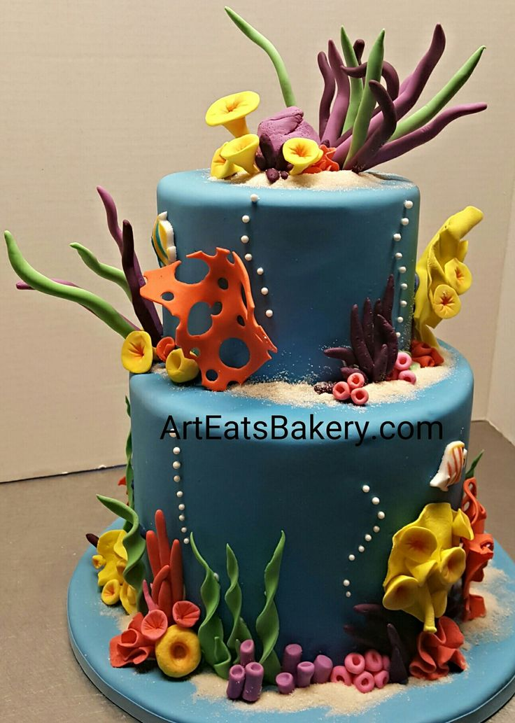 Best Kids Unique Birthday Cakes Images On Pinterest Birthday - Nemo fish birthday cake