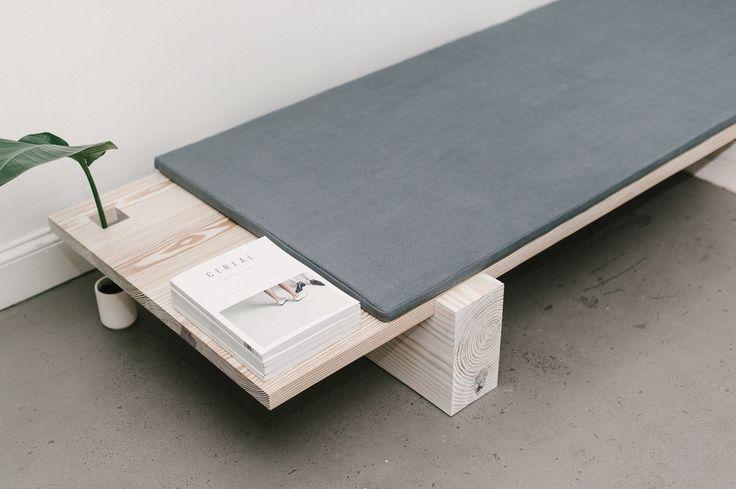 B|01 is a minimal bench created by Brooklyn-based designer Levi Gordy.