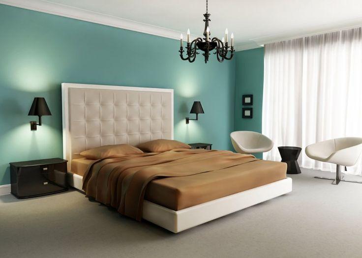 Une chambre qui revisite les styles