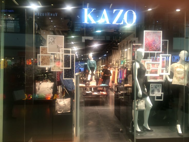 Kazo: vintage frames,open back display,not very flashy as always, autumn winter collection