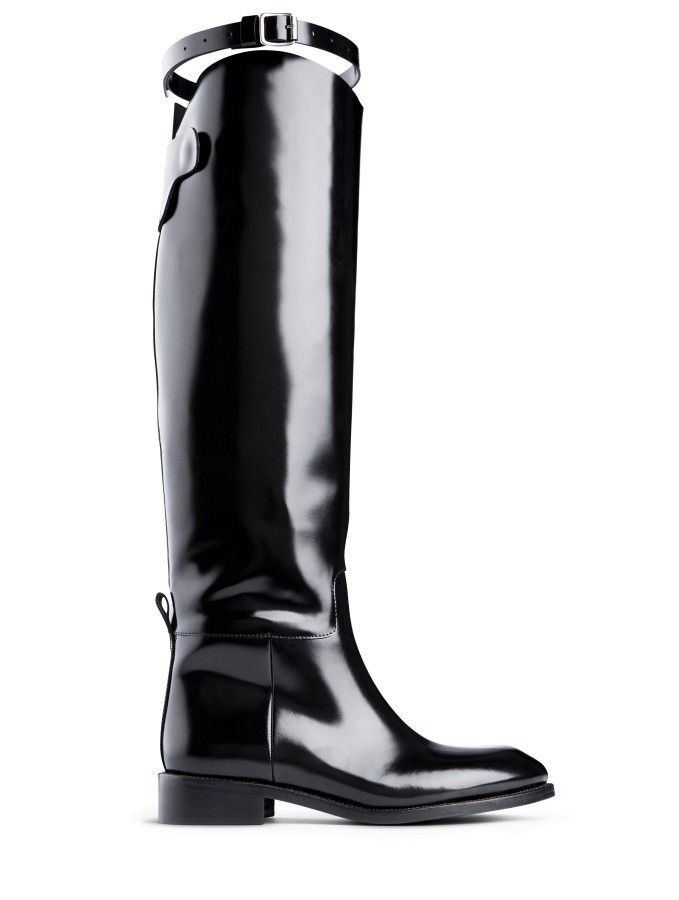 Acne riding boots
