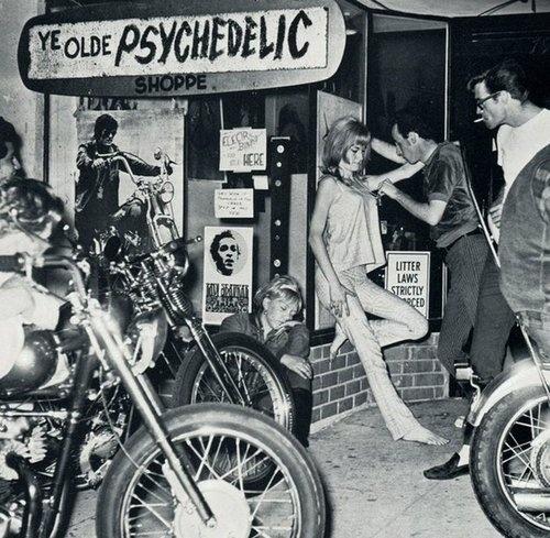 Ye Olde Psychedelic Shoppe - Vintage Motorcycle Days!