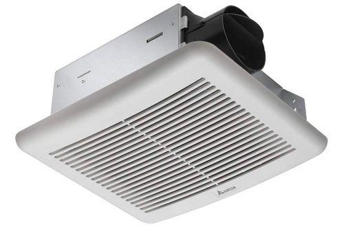Delta Breez Slm70 Slim 70 Cfm Ceiling Exhaust Fan For Kitchen Exhaust Fan Bathroom Exhaust Fan Bathroom Exhaust