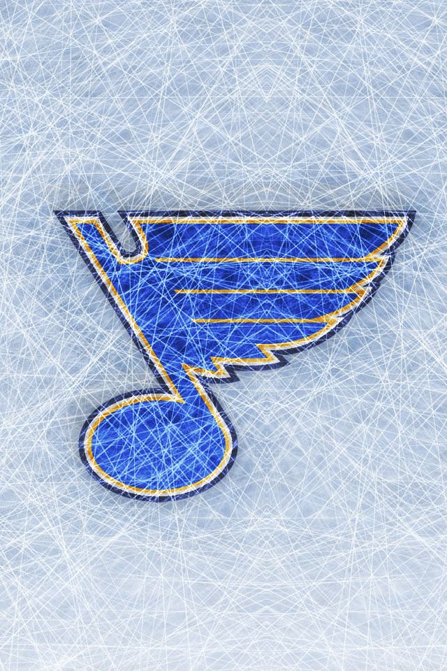 iPhone Wallpaper St. Louis Blues (Ice) Blues Creations