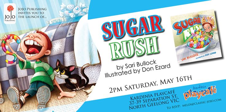 Sugar Rush by Sari Bullock is being launched on May 16! www.classic-jojo.com