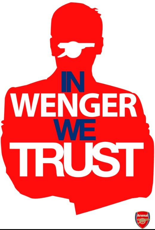 In Wenger I Trust.......Not to win any trophies.........;]]]]]]]