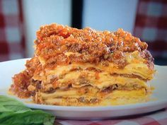 Pasticcio di lasagne al forno con sugo di verdure