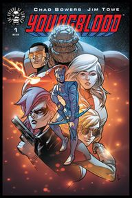 Rob Liefeld's YOUNGBLOOD is officially back again.