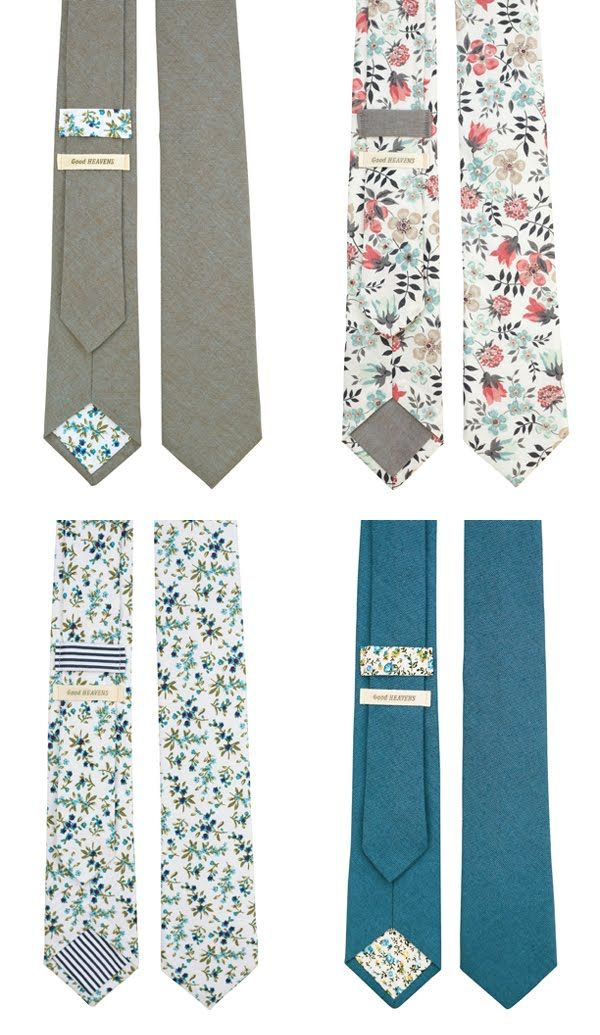 That top right tie should be in my wedding.  Too bad it's sold out...