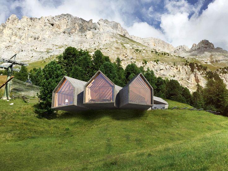 5 design berghutten in Italië - Indebergen.nl