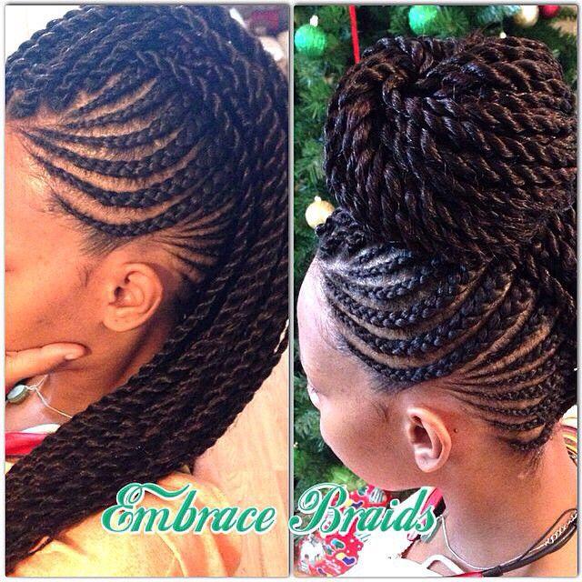 @embracebraids DOPENESS ⭐️|#teamnatural #naturalhair #loveyourmane #kinks #curls #coils #naturalista #braids #updo #mohawk #protectivestyle #borntobenatural #hairspiration #naturalhairstyles #myhaircrush #mynaturaldopeness #urbanhairpost #curlbox #bighairbetty #BerryCurly
