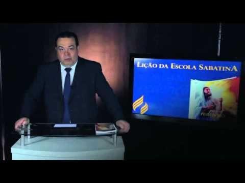 Escola Sabatina Lição 4 Conflito e crise: os juízes Classe De Professore...