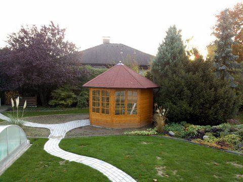 17 best images about gartenpavillons on pinterest gardens shelters and hanging baskets. Black Bedroom Furniture Sets. Home Design Ideas