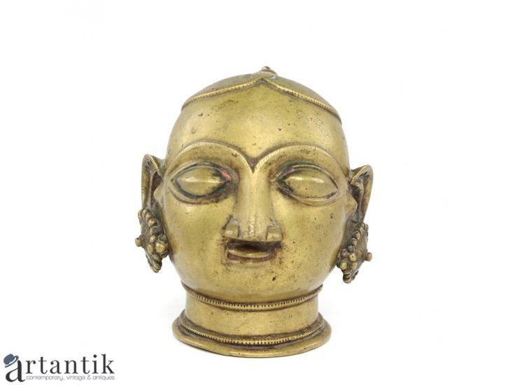 Statueta hindusa - Gauri - Parvati - manufactura in alama - India