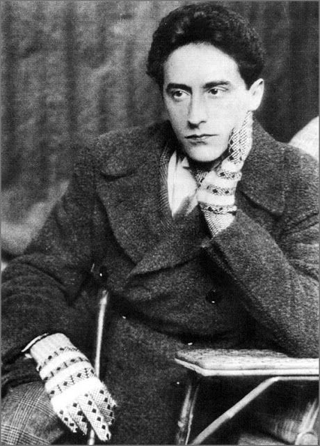 """The French poet-impresario and artist Jean Cocteau. British artist Christopher Wood met Cocteau in Villefranche, on the French Riviera, in 1924. Wood immediately became infatuated with Cocteau and his hedonistic existence. The pair embarked on a fast and close relationship, sharing a studio in Paris. Wood wrote of his lover Cocteau: """"He is not only the greatest poet alive, but, I suppose, the greatest genius"""""""