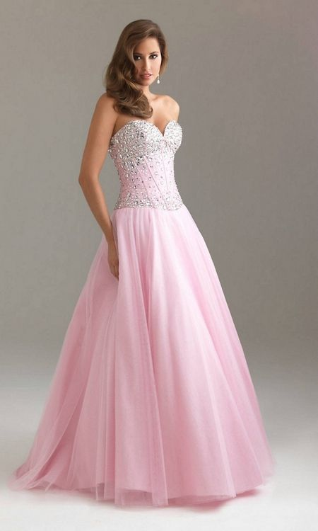 Самые красивые длинные платья на выпускной 2015