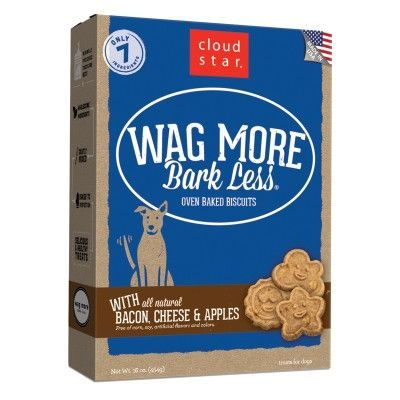 DOG TREATS - BISCUITS & COOKIE - OVEN BAKED TREAT BACON/CHEESE/APPLE - USA - 16OZ - WHITEBRIDGE PET BRANDS - UPC: 693804722003 - DEPT: DOG PRODUCTS