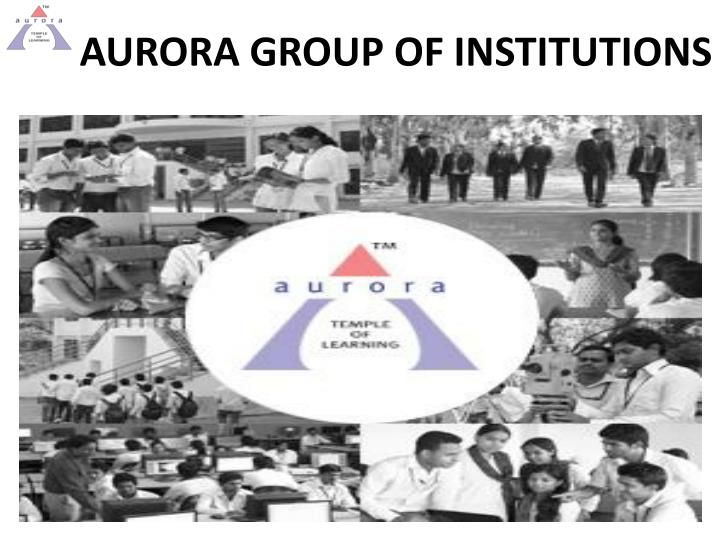Aurora is listed as Top 20 colleges in India. We have a dedicated team of faculty members and work towards the students career growth