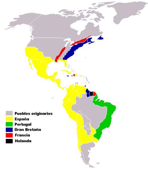 despues de la muerte de cristobal colon los espanoles y los europeos colonizaron America y los indigenas duenos nativos de esas tierras  los trataron como exclavos