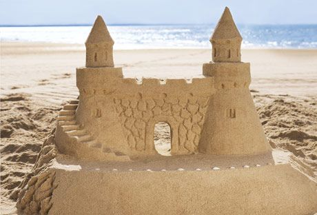 How to Make a Sand Castle - Sand Castle Building Tips and Tricks - Redbook