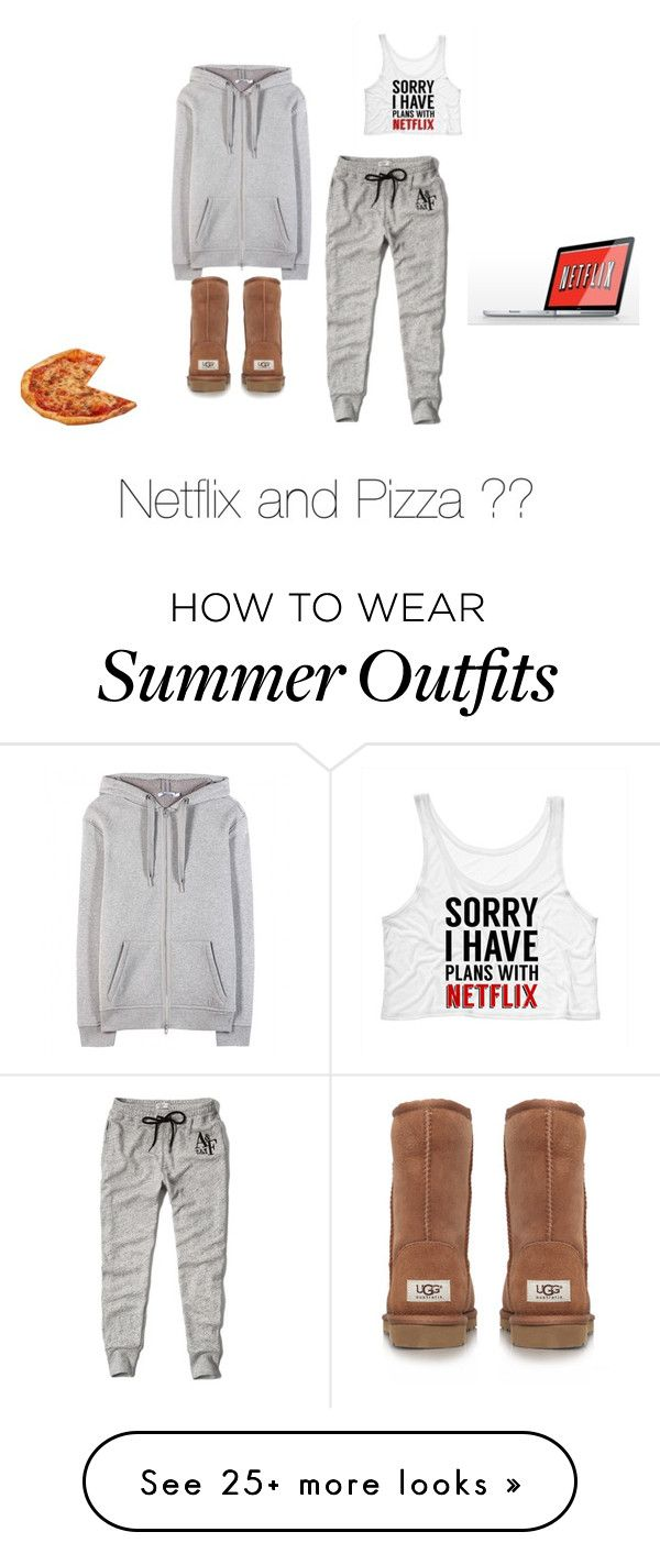 #538 by fashiondivapolice on Polyvore featuring Abercrombie Fitch, T By Alexander Wang, UGG Australia and Chefn