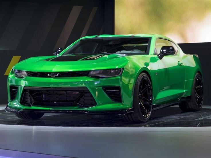 Chevrolet Camaro Track Concept in Genf: Giftgrünes Muscle Car für den Trackday