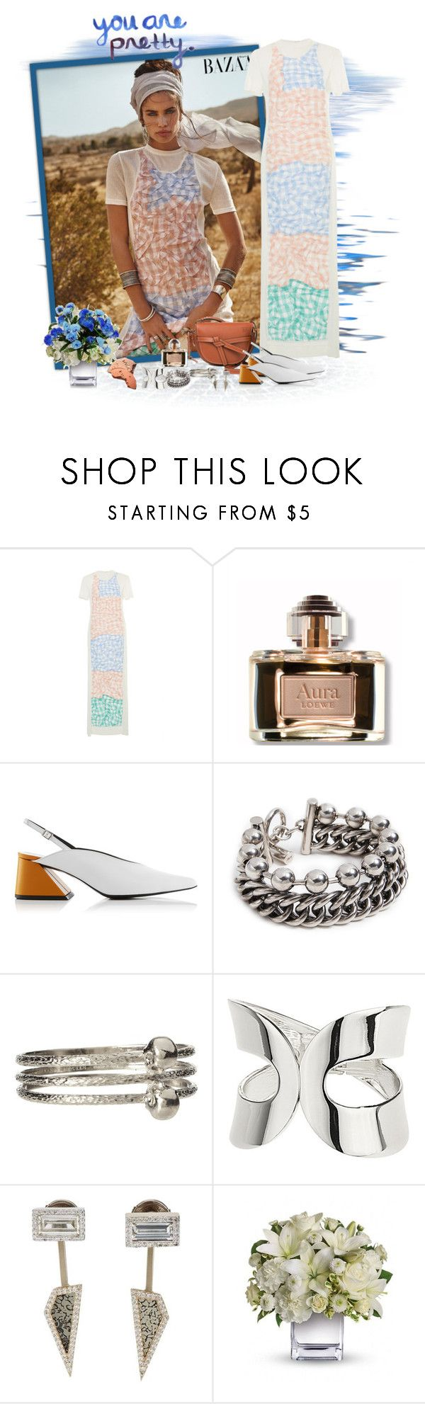 """""""Is it you?"""" by akhesa10 ❤ liked on Polyvore featuring Loewe, Alexander Wang, Alexander McQueen, Dorothy Perkins and Monique Péan"""
