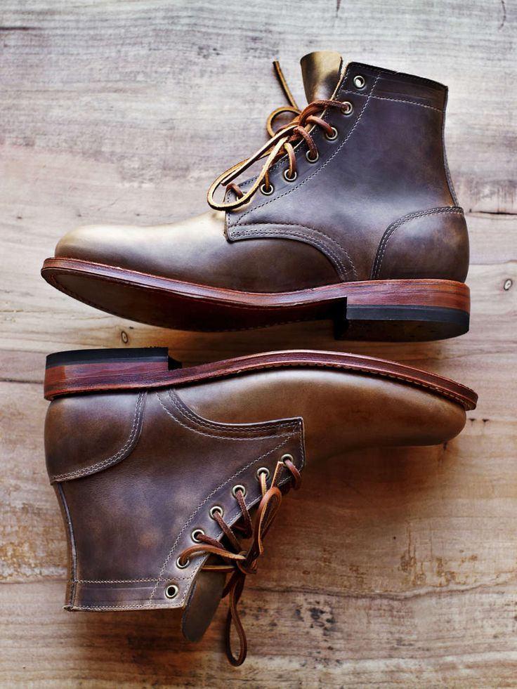 The Best Men's Shoes And Footwear :   Oak Street Bootmakers Leather Boots    -Read More –   - #Men'sshoes