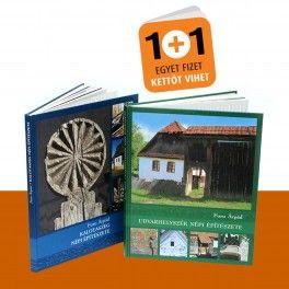 Ismerje meg Kalotaszeg és Udvarhelyszék népi építészetét! Furu Árpád két nagysikerű könyvét most féláron rendelheti meg az Idea Könyvtér boltjában. Az akció február végéig tart.