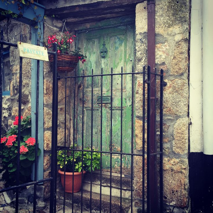 St Ives, Cornwall - Cutest Door i have ever seen