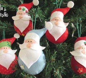 La feutrine c\u0027est magique, on peut réaliser toutes sortes de créations avec  comme les décorations de Noël. Ainsi, si vous avez quelques chutes de  feutrine