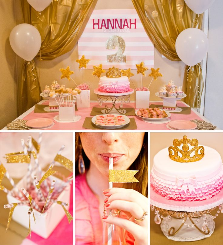 Gold And Pink Party Pinkalicious
